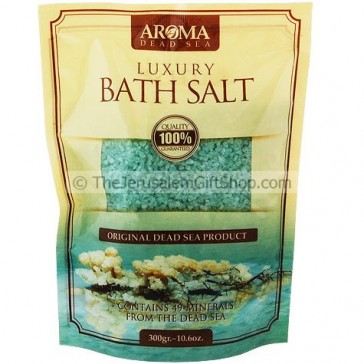 Eucalyptus Aroma Luxury Dead Sea Bath Salts Holy Land Christian Gifts