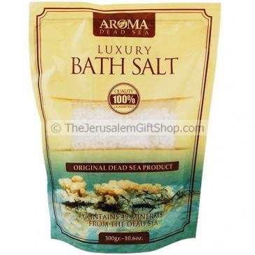 Aroma Luxury Dead Sea Bath Salt - Natural