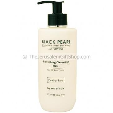 Black Pearl Refreshing Cleansing Milk with Seaweed