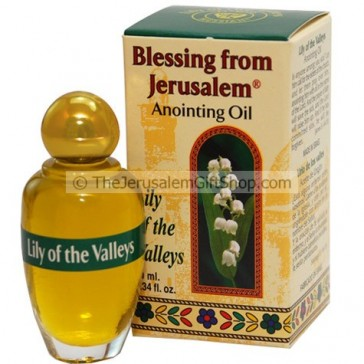 Blessing from Jerusalem Anointing Oil - Lily of the Valley