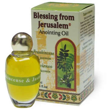 Blessing from Jerusalem Anointing Oil - Frankincense and Jasmin