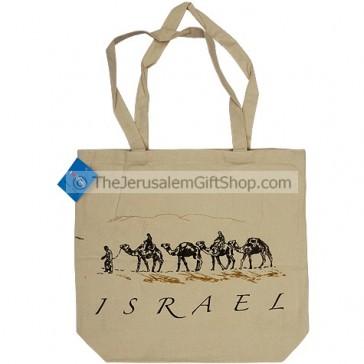 Canvas Shopping Bag - Israel Camels