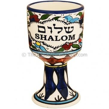 Communion cup - Shalom Hebrew