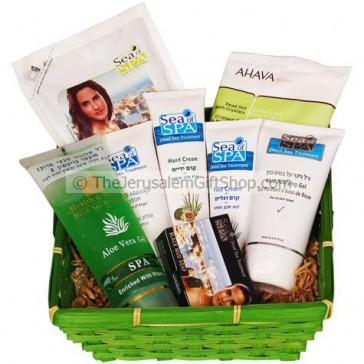 Dead Sea Beauty Gift Basket