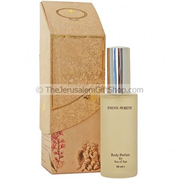 Snow White Body Perfume from Dead Sea Minerals