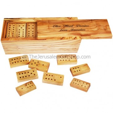 Domino Set from Olive Wood