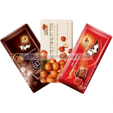 Elite Chocolate Bars - Dark Nuts and Strawberry