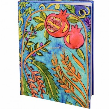 Seven Species Notepad by Yair Emanuel - Large