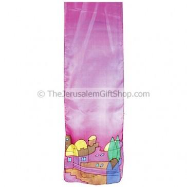 Silk Scarf - Jerusalem - Hand Painted