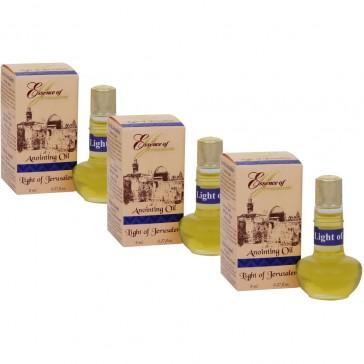 Scent of Jerusalem - Anointing Oil - Light of Jerusalem 8ml Value Pack