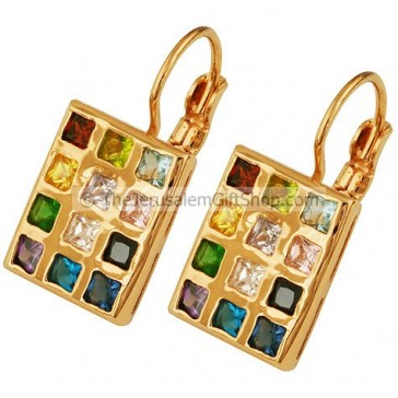 Hoshen Earrings - Goldfill