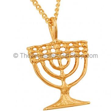 GoldFill 'Menorah' Pendant by Marina