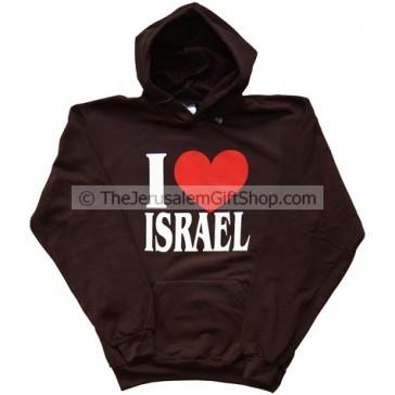 I Love Israel Hoodie