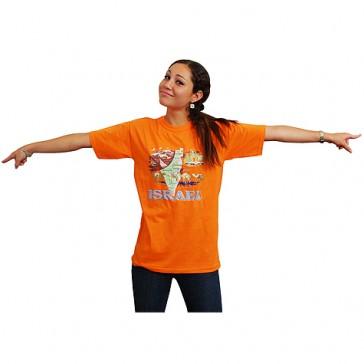 Israel Map T-Shirt