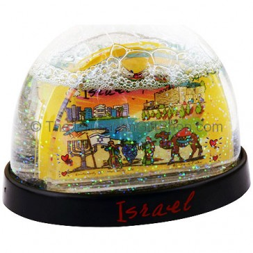 Israel Subway Snow Ball
