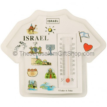 Novelty T-Shirt shaped Thermometer Magnet