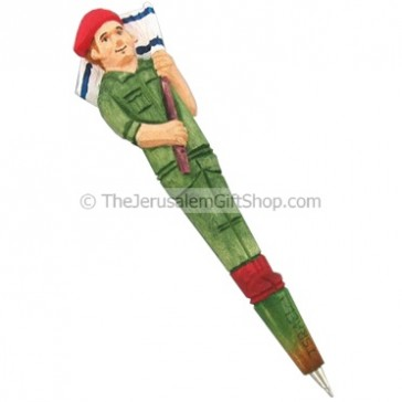 Israeli Soldier Carved Pen