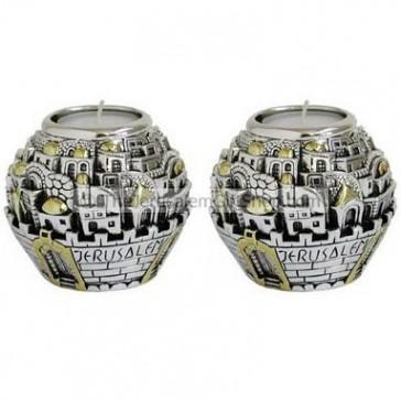 Jerusalem Ball Candle Holders