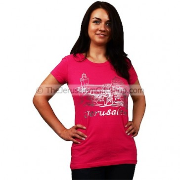 Ladies Jerusalem Western Wall T-Shirt