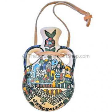 Oil Bottle - Pilgrim's Flask - Jerusalem
