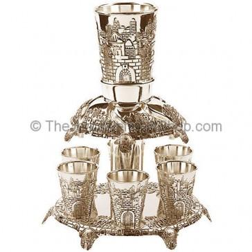 Jerusalem Wine Fountain - 6 Cups