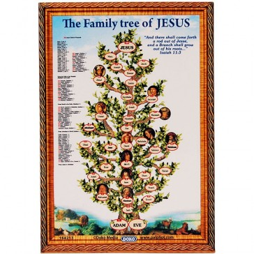The Family Tree of Jesus on a Fridge Magnet