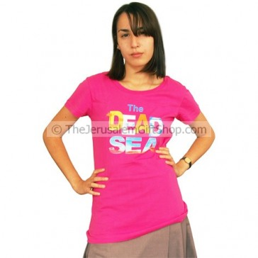 Ladies Dead Sea T-Shirt - Pink