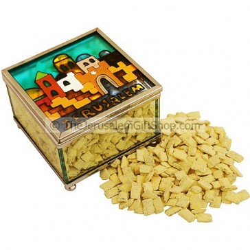 Incense from Jerusalem in Decorated Box - Lemon Tree