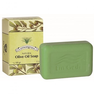 Olive Oil Soap enriched with Lemongrass