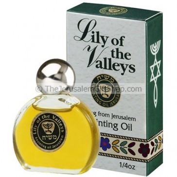 Anointing Oil - Enriched with Lily of the Valley