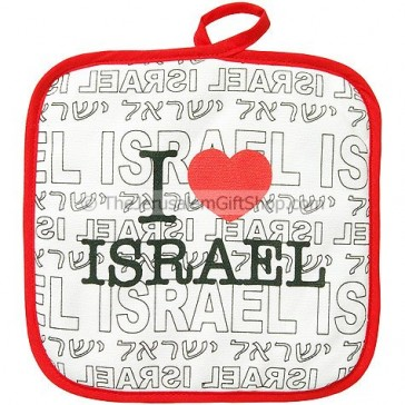 I Love Israel Hot Mat