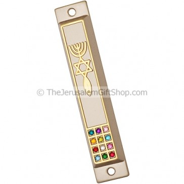 Grafted In with Hoshen Mezuzah Case