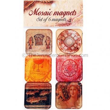 Set of 6 Magnets - Mosaic