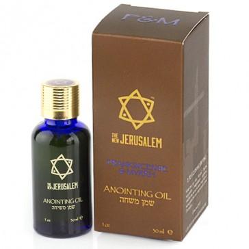 The New Jerusalem 'Frankincense & Myrrh' Anointing Oil - 30ml
