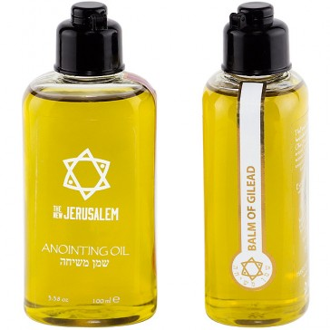The New Jerusalem Balm of Gilead Anointing Oil - 100ml