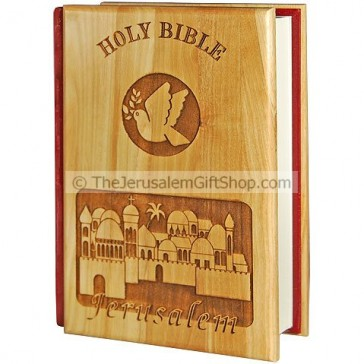 Bible King James Version - Olive Wood Jerusalem