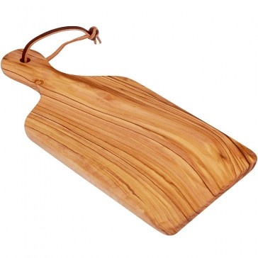Olive Wood Cheese Board from Bethlehem - Small 9 Inch