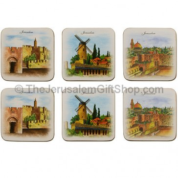 Art from Jerusalem Coaster Set