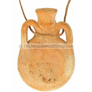 Pilgrim's Clay Flask - Replica