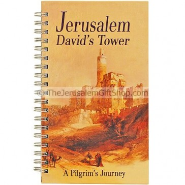 Spiral Hard Cover Notebook - Pilgrims Journey