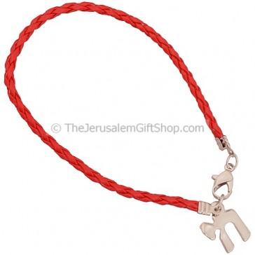Chai - Life Bracelet in Red