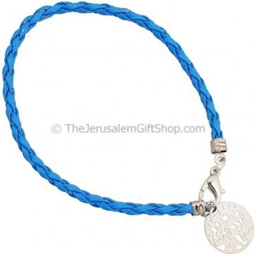 Shema Yisrael Bracelet - Blue
