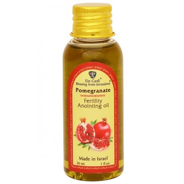 Pomegranate Anointing Oil - Fertility - Made in Israel - 30ml