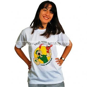 Popeye IDF Tshirt