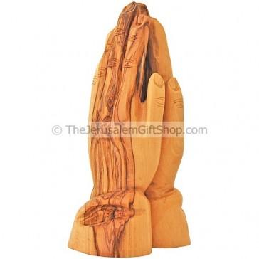 Praying Hands - Olive Wood