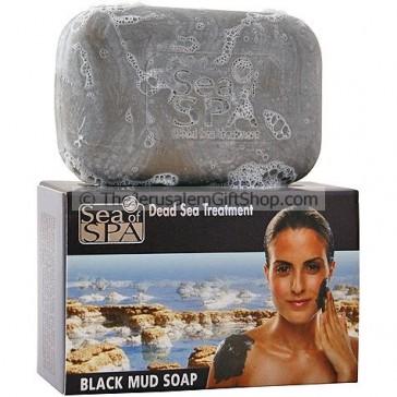 Soap - Dead Sea Black Mud - Sea of Spa