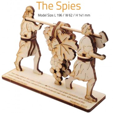 THE SPIES | DIY Wood 3D Puzzle | Educational Self Assembly Craft | Made in the Holy Land