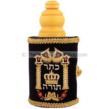 Torah Scroll - Crown