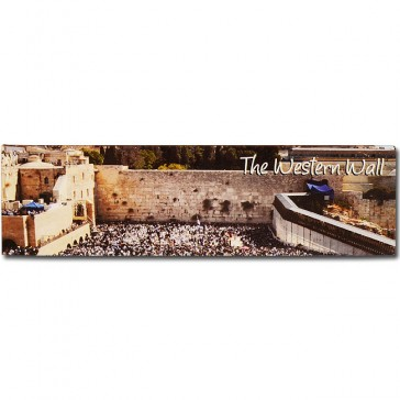 Panoramic Fridge Magnet - The Western Wall