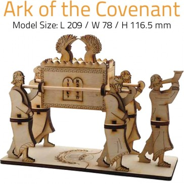 ARK OF THE COVENANT | DIY Wood 3D Puzzle | Educational Self Assembly Craft | Made in the Holy Land